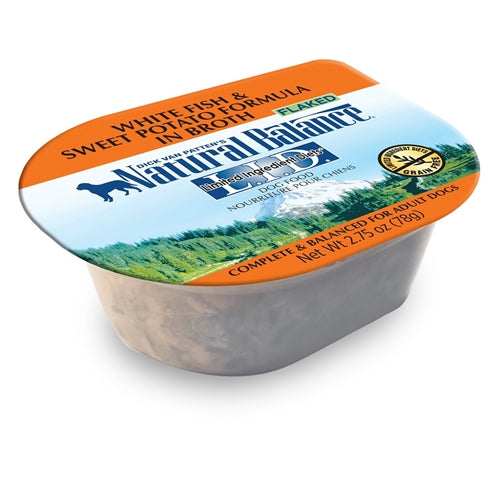 Natural Balance Grain Free L.I.D. Sweet Potato and White Fish Canned Wet Food