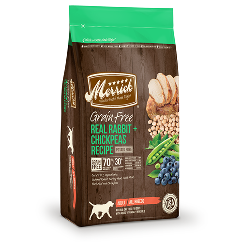 Merrick grain-free Rabbit and Chickpeas Dry Dog Food
