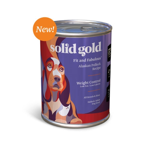Solid Gold Fit and Fabulous Weight Control Canned Dog Food