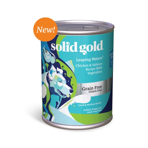 Solid Gold Grain Free Leaping Waters Canned Dog Food