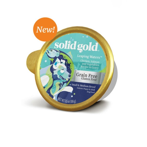 Solid Gold Grain Free Leaping Waters Wet Dog Food