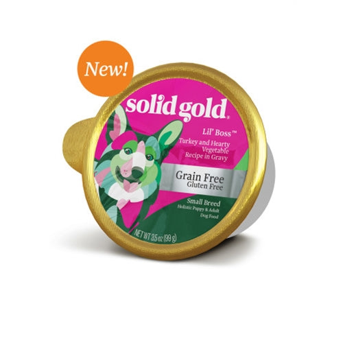 Solid Gold Grain Free Lil' Boss Wet Food