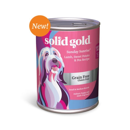 Solid Gold Grain Free Sunday Sunrise Canned Dog Food