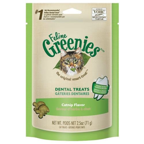 Greenies Catnip Dental Treats for Cats