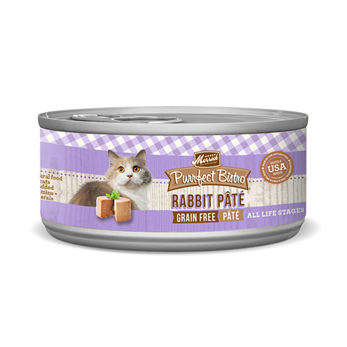 Merrick Purrfect Bistro Rabbit Pate Cat Cans