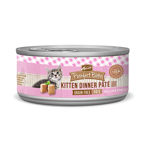 Merrick Purrfect Bistro Kitten Pate Cat Cans