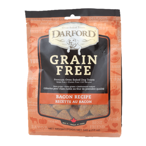 Darford Grain Free Bacon Flavor Dog Treats