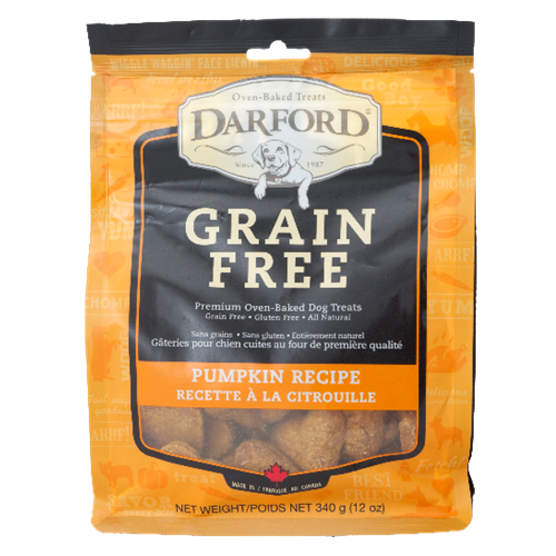 Darford Grain Free Pumpkin Flavor Dog Treats