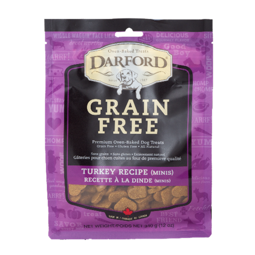Darford Grain Free Turkey Minis Flavor Dog Treats