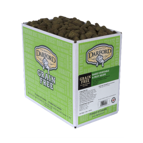 Darford Grain Free Vegetables and Fruit Flavor Dog Treats
