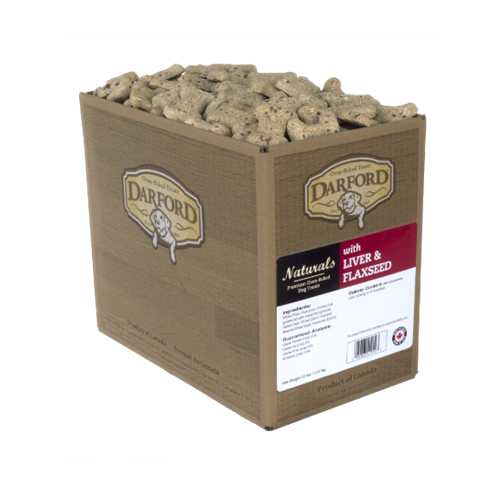 Darford Naturals Liver & Flaxseed Dog Treats