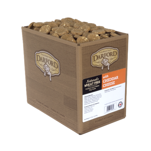 Darford Naturals Wheat Free with Cheddar Cheese Dog Treats
