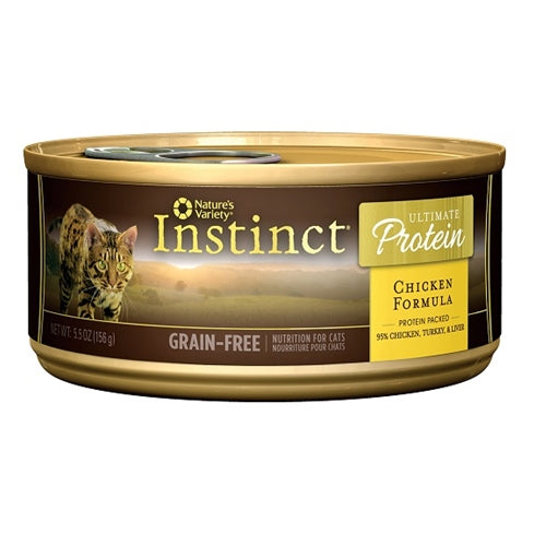 Nature's Variety Instinct Ultimate Protein Chicken Canned Cat Food