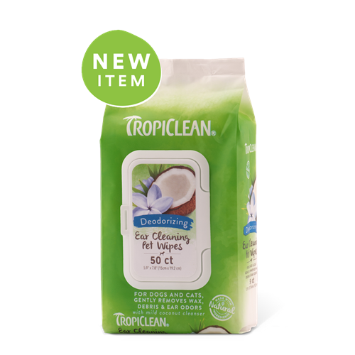 Tropiclean Ear Cleansing Wipes