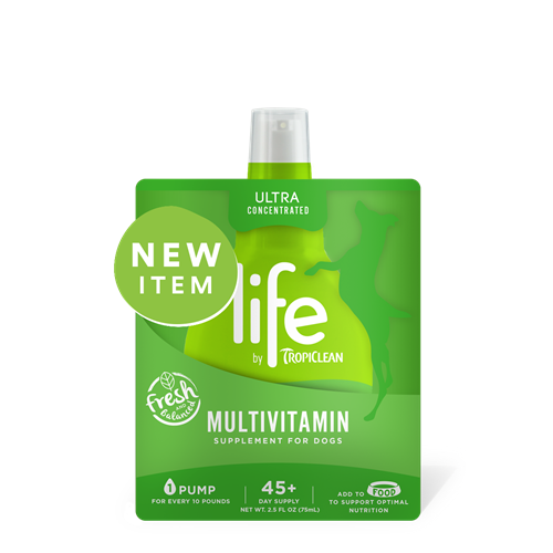 Tropiclean LIFE Multivitamin Supplement for Dogs