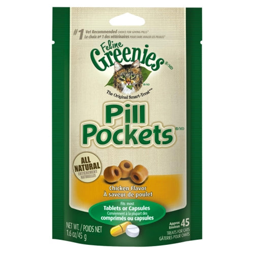 Greenies Pill Pockets for Cats - Chicken