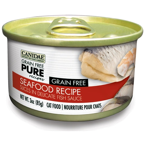 CANIDAE Grain Free PURE Seafood Canned Cat Food