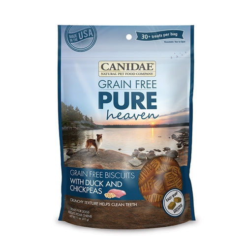 CANIDAE Grain Free pure HEAVEN Duck & Chickpeas Biscuits for Dogs