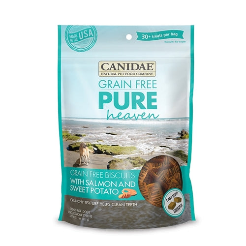 CANIDAE Grain Free pure HEAVEN Salmon & Sweet Potato Biscuits for Dogs