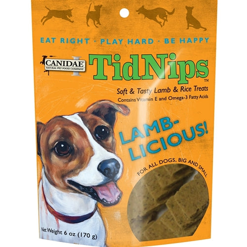 CANIDAE Tidnips Lamb-Licious Soft Treats for Dogs