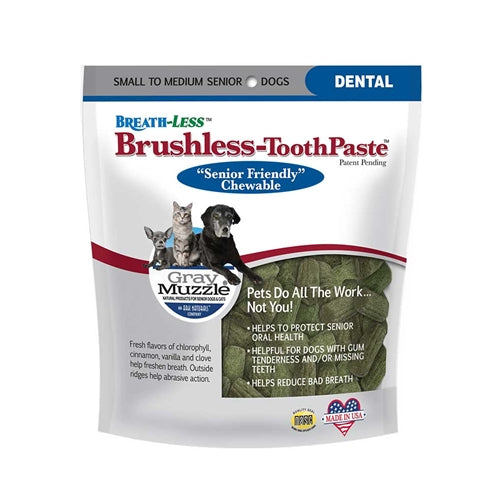 Ark Naturals Gray Muzzles Breathless Brushless Toothpaste