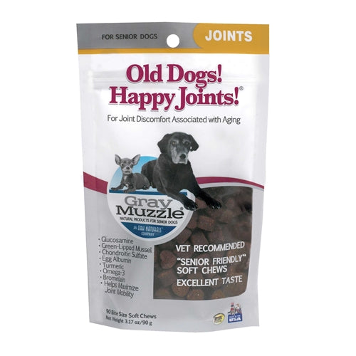 Ark Naturals Gray Muzzles Old Dogs! Happy Joints!
