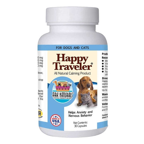 Ark Naturals Happy Traveler Capsules for Cats and Dogs