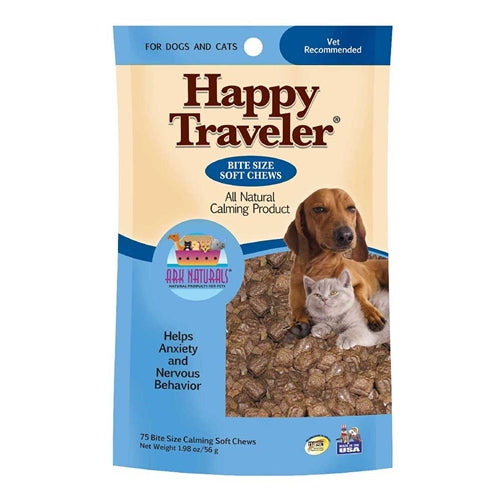 Ark Naturals Happy Traveler Soft Chews for Cats and Dogs