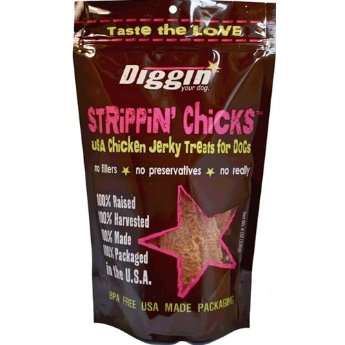 Diggin Strippin' Chicks Treats for Dogs