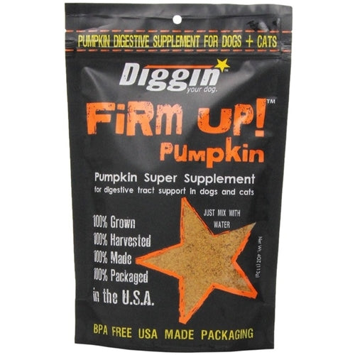 Diggin Your Dog FiRM UP! Original Pumpkin Super Supplement