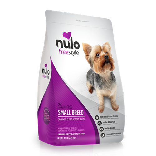 Nulo FreeStyle Grain Free Salmon and Red Lentils Small Breed Dry Dog Food