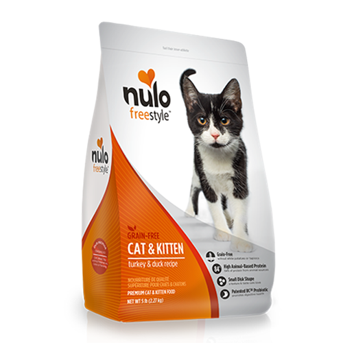 Nulo FreeStyle Grain Free Turkey and Duck Dry Cat Food