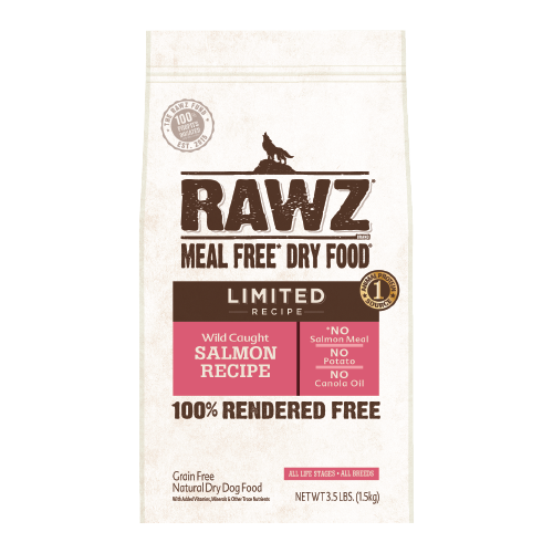 RAWZ Meal Free Wild Caught Salmon Recipe for Dogs