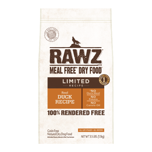 RAWZ Meal Free Real Duck Recipe for Dogs