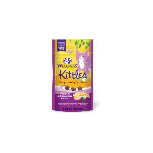 Wellness Kittles Whitefish and Cranberries Cat Treat