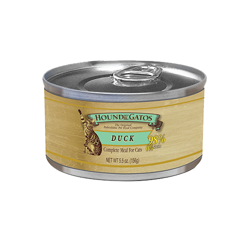 Hound & Gatos Grain Free Duck Canned Cat Food
