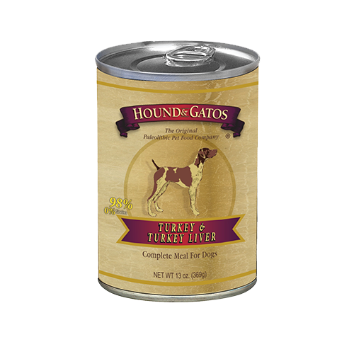 Hound & Gatos Grain Free Turkey Canned Dog Food