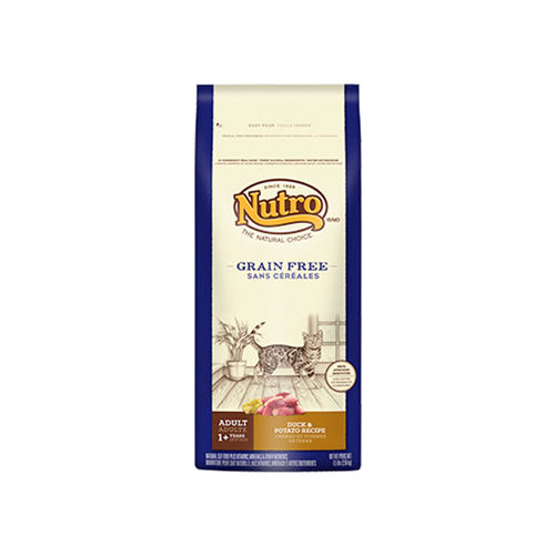 Nutro Grain Free Duck and Potato Dry Food For Cats