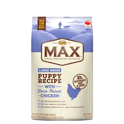 Nutro Max Chicken Meal and Rice Large Breed Puppy Formula