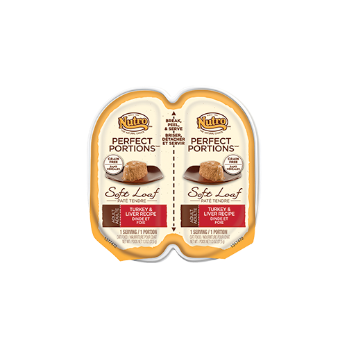 Nutro Perfect Portions Turkey and Liver Canned Food for Cats