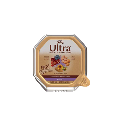Nutro Ultra Chicken, Lamb and Salmon Pate Adult Dog Food