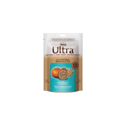 Nutro Ultra Pumpkin and Oatmeal Biscuits for Dogs