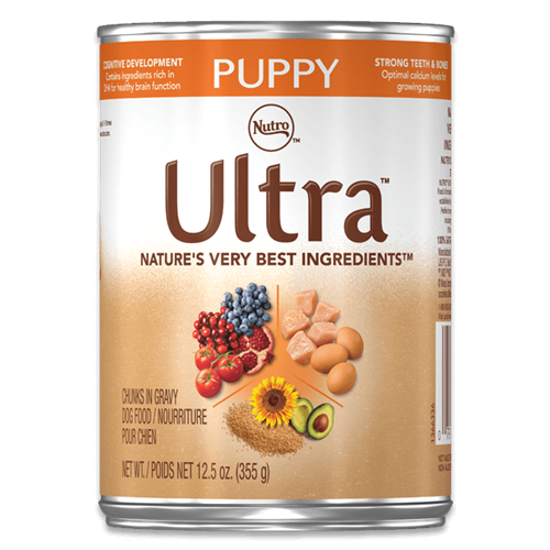 Nutro Ultra Chicken, Lamb and Salmon Puppy Canned Food