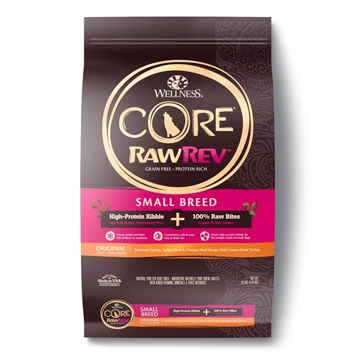 CORE RawRev Small Breed + 100% Raw Turkey Dog Food
