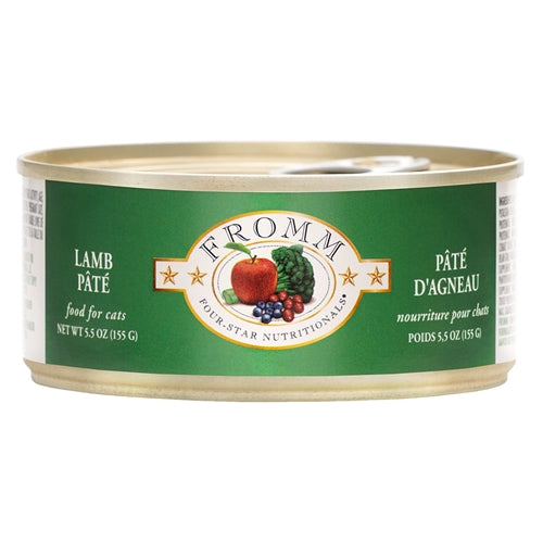 Fromm Four-Star Nutritionals Lamb Pâté Food for Cats