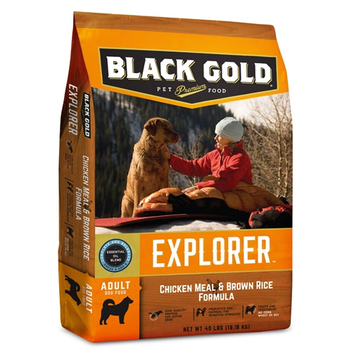 Black Gold® Explorer™ Chicken Meal & Brown Rice Formula Dog Food