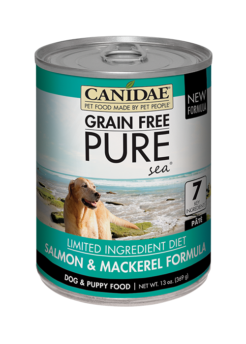 CANIDAE Grain Free pureSEA with Salmon Dog Cans