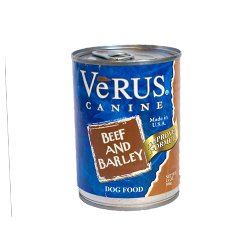 VeRUS Beef and Barley Can Dog Food