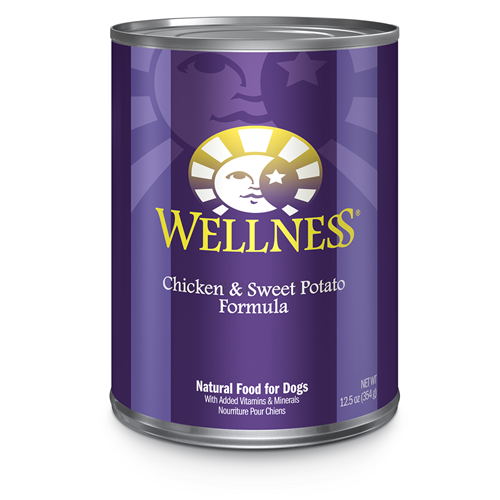 Wellness Chicken & Sweet Potato Dog Formula
