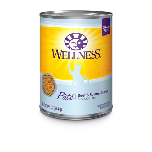 Wellness Beef & Salmon Cat Cans
